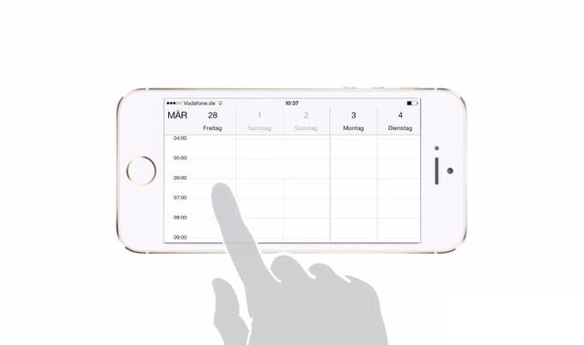 iOS 8 Video-Tipp: Jahres-, Monats-, Wochen- und Tagesansicht in der Kalender-App aufrufen - so geht's
