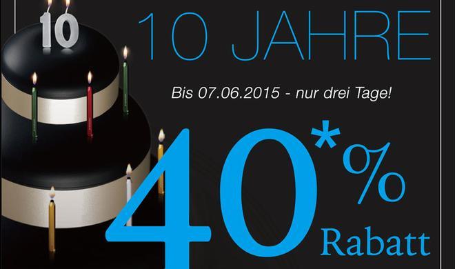 40 Prozent Rabatt: 10 Jahre cooles Zubehör von Just Mobile – wir gratulieren!