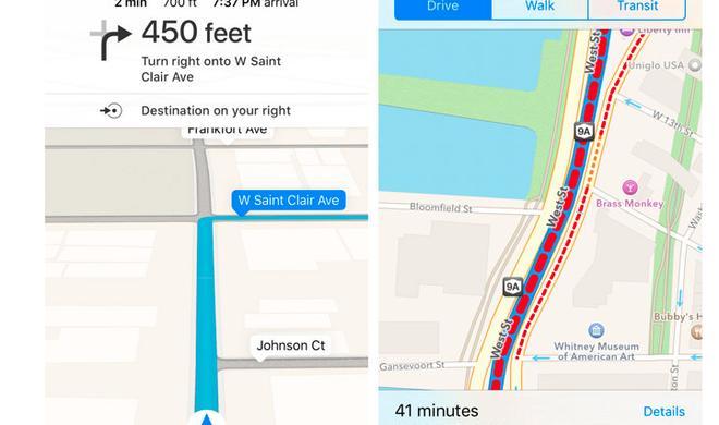 iOS 9 Beta: Weitere Funktionen der Karten-App durchgesickert - Apple will nun vermehrt an Google Maps anschließen