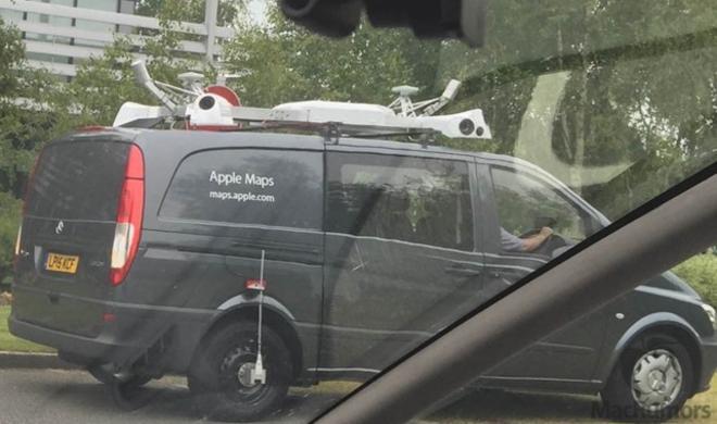 Apple Van auf dem europäischen Kontinent gesichtet: Datensammlung für Google Street View-Konkurrenz?
