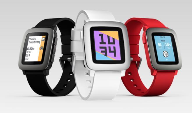 Apple Watch-Alternative: Pebble Time ab sofort vorbestellbar