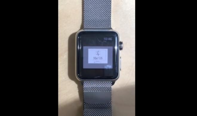 Apple Watch: Mac OS 7.5.5 unter watchOS 2.0 lauffähig