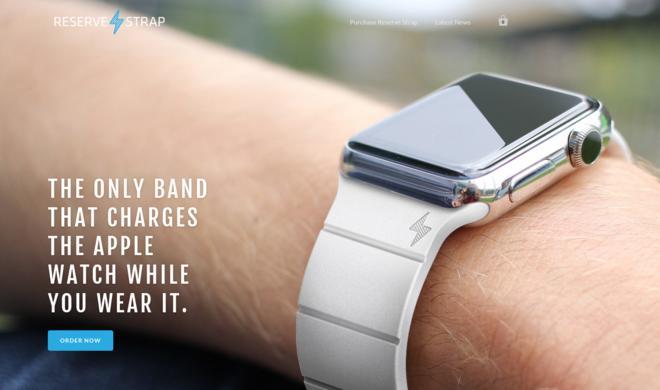 Apple Watch: Reserve Strap verdreifacht Akkulaufzeit