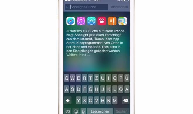 iOS 8 Video-Tipp: Spotlight findet alles! – so geht's