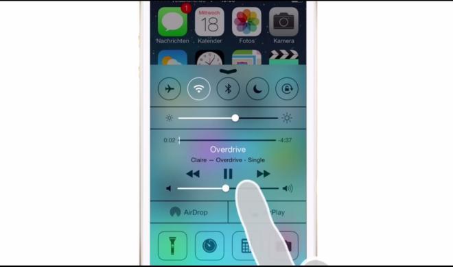 iOS 8 Video-Tipp: Musik im Kontrollzentrum steuern – so geht's
