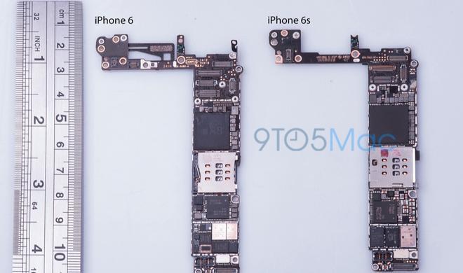 Neue Bilder vom Logic Board des iPhone 6s aufgetaucht