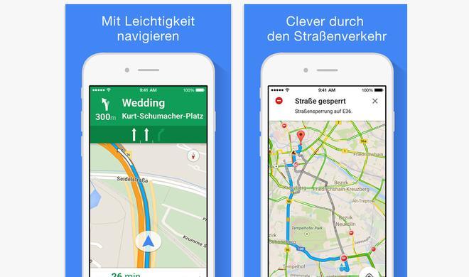 Google Maps: iOS-Version erhält neue nützliche Funktionen