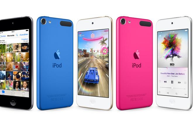 iPod touch: Apple bringt Musik-Player in fünf Farben und mehr Power unter der Haube