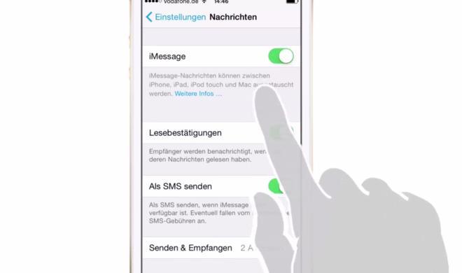iOS 8 Video-Tipp: Mit iMessage Geld sparen – so geht's