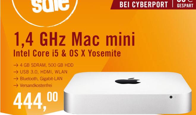 Mac mini-Schnäppchen: So sparen Sie 125 Euro beim Kauf eines Mac minis – wenn Sie schnell sind