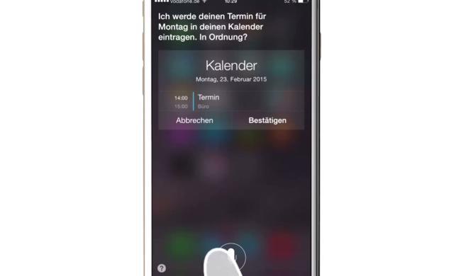 iOS 8 Video-Tipp: Kalender-Termin mit Siri anlegen – so geht's