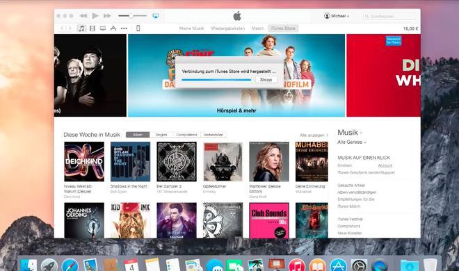 OS X 10.10 Yosemite Video-Tipp: Einkäufe im iTunes Store reklamieren und Probleme melden - so geht's