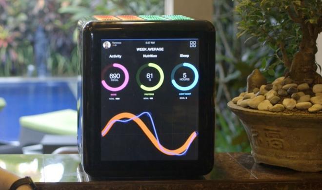 Nourish: Sport-Getränkemixer mit Apple-Watch-Anschluss