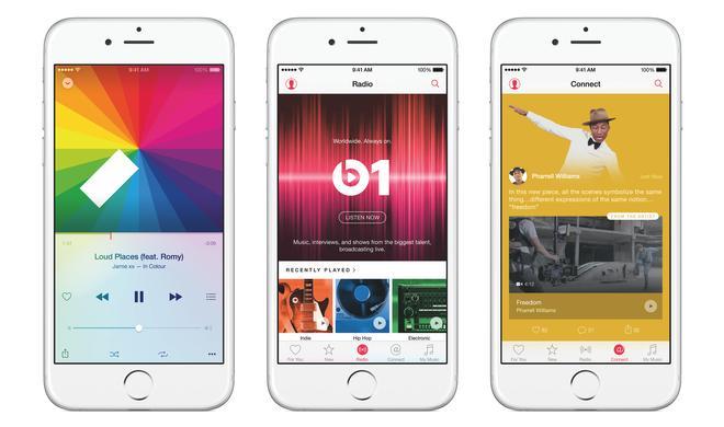 Apple Music: Weltweite Werbekampagne aufgetaucht - hier gibt es den Streaming-Dienst gratis zum iPhone 6