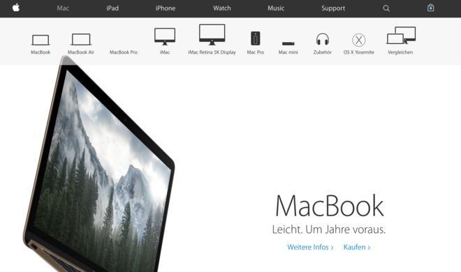 Apple überarbeitet Webseite und verzichtet auf eigenen Apple Online Store