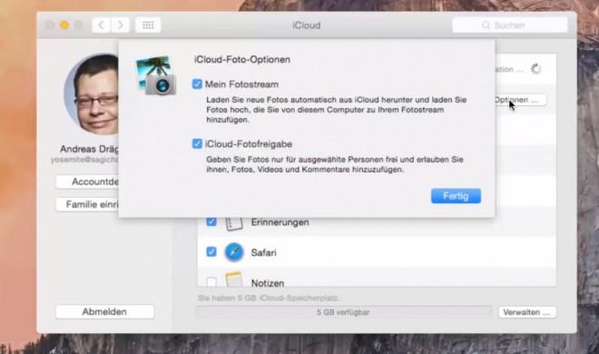 OS X 10.10 Yosemite Video-Tipp: Über iCloud Daten synchronisieren – so geht's