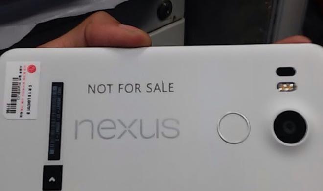 Nexus-Smartphone: Erstes Bild enthüllt Design und verrät Hersteller