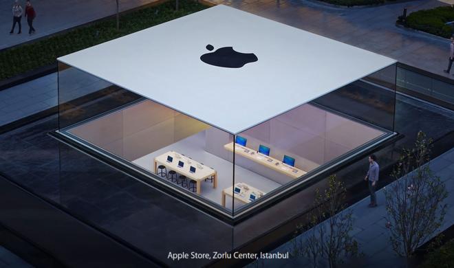 Apple baut Apple Stores um: So werden die Läden künftig aussehen