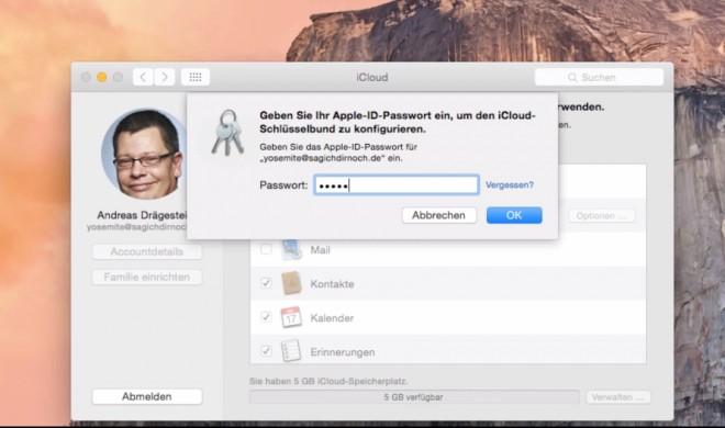 OS X 10.10 Yosemite Video-Tipp: iCloud Synchronisation und Backup aktivieren – so geht's