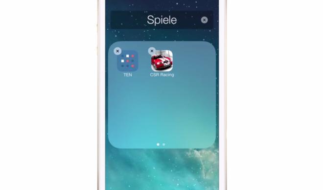 iOS 8 Video-Tipp: Ordner erstellen und Apps verschieben – so geht's