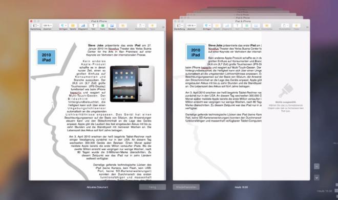 OS X 10.10 Yosemite Video-Tipp: Alte Dokumentenversion als separat abspeichern – so geht's