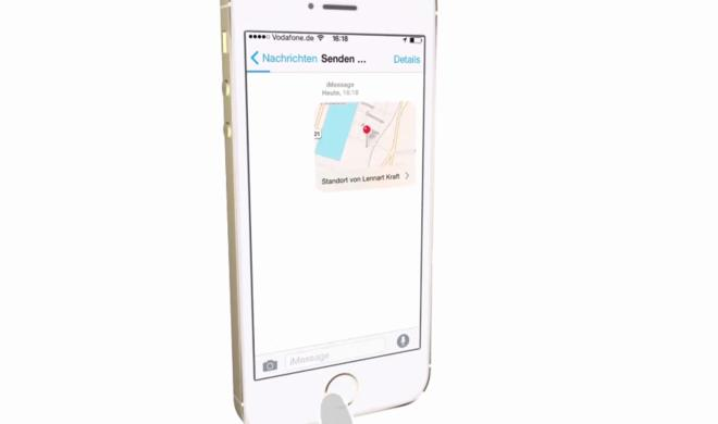 iOS 8 Video-Tipp: Karte mit aktuellem Standort an Freunde und Bekannte versenden – so geht's
