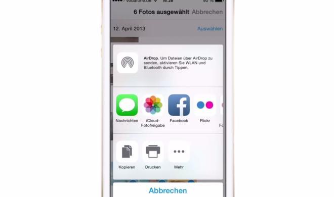 iOS 8 Video-Tipp: Viele Bilder & Fotos via Mail versenden – so geht's