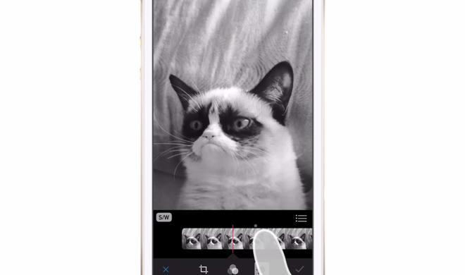 iOS 8 Video-Tipp: Fotos mit Schwarz-Weiß-Filter versehen – so geht's