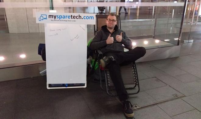 iPhone 6s-Event hat noch nicht mal begonnen - erster Camper bereits vor Apple Store in Sydney gesichtet