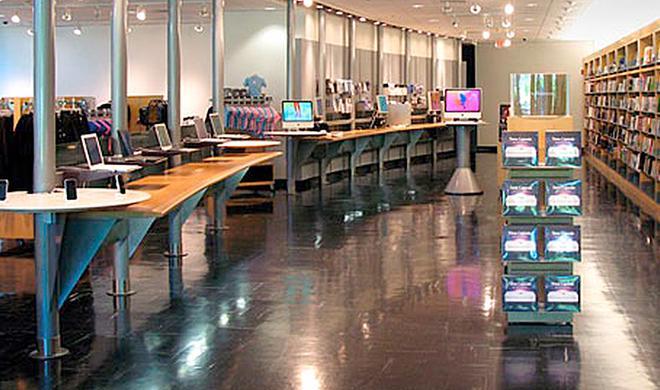 Apple Campus Store: Jony Ive verpasst Souvenir-Store neues Design