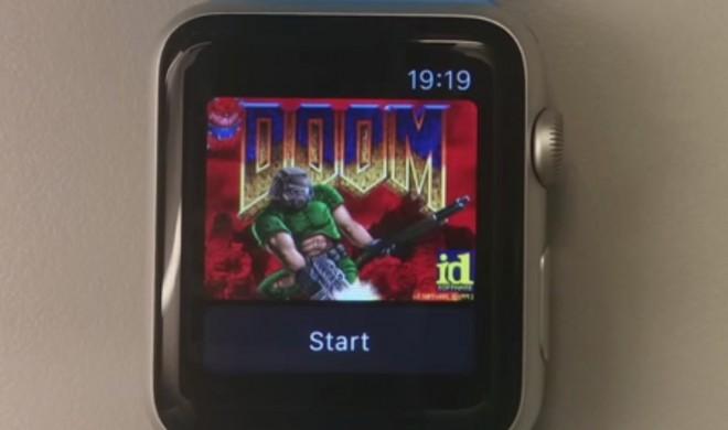 Shooter Doom läuft auf der Apple Watch und dem neuen Apple TV