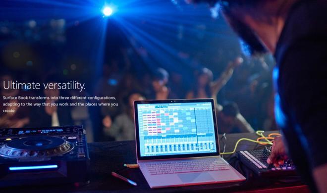 Windows 10-Geräte-Event: Surface Book ist iPad Pro & MacBook Pro in einem