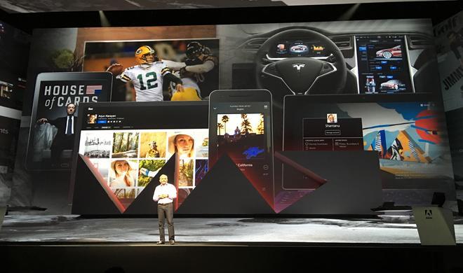 Adobe lässt die Hüllen auf der Kreativekonferenz Adobe MAX fallen - von Digital zu Web zu Social