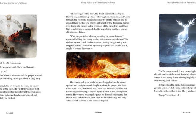 Harry Potter Enhanced Edition landet im iBooks Store