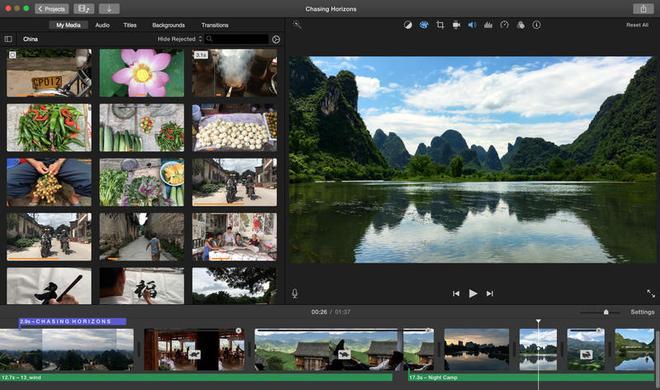 iMovie für OS X beherrscht nun 4K-Videos