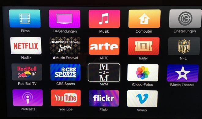 Apple TV 3: Neue Kanäle verfügbar