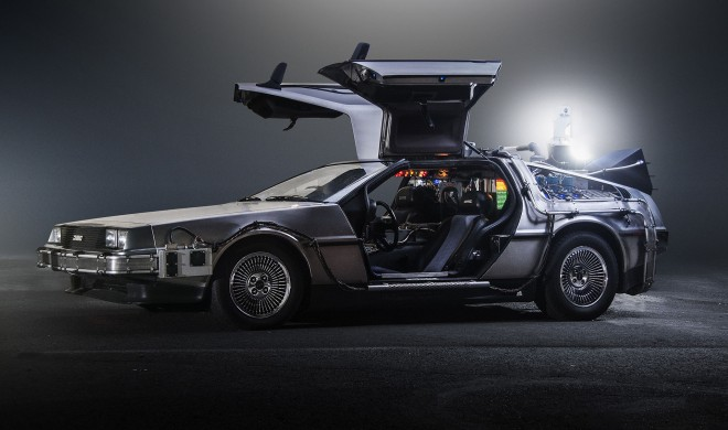 Zurück in die Zukunft-Tag: Heute besuchen uns Marty McFly & Doc Brown im DeLorean