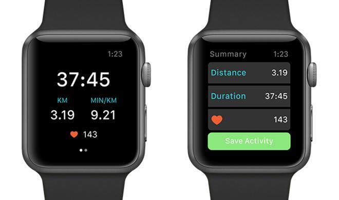Runkeeper als native App für die Apple Watch
