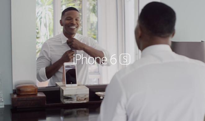 iPhone 6s: Jamie Foxx flirtet mit Siri