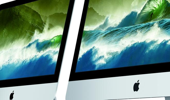 4K- & 5K-iMacs können 60 mal mehr Farbabstufungen darstellen