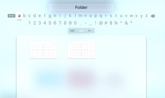 Apple TV 4: Hinweis auf Ordner entdeckt