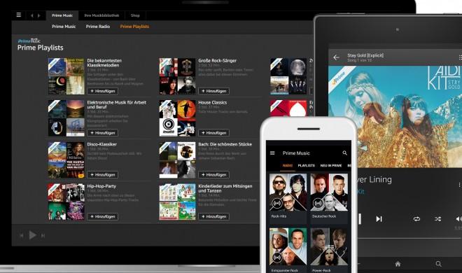 Prime Music: Für Amazon Prime-Nutzer ab sofort kostenlos