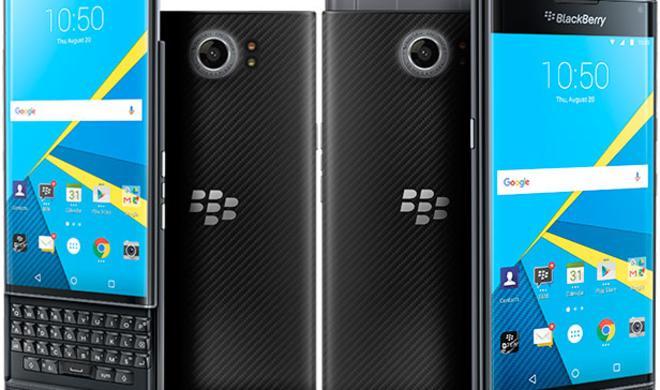 Blackberry Priv: Android-Smartphone mit Hardware-Tastatur