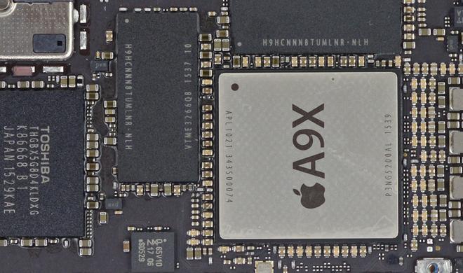 """iPad Pro: Mit M9-Coprozessor, aber ohne """"Hey Siri"""""""