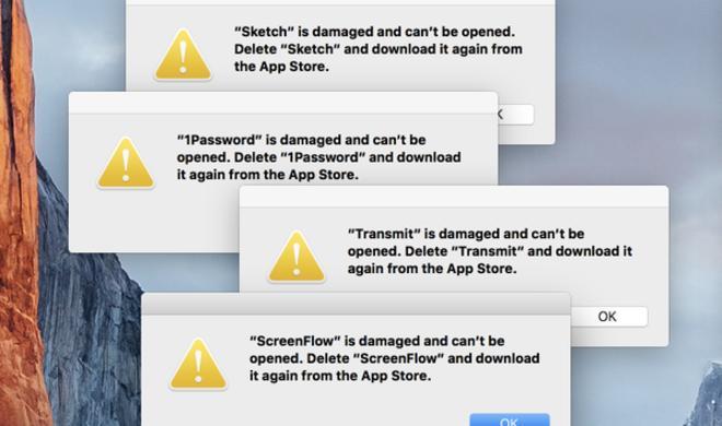 [Update] Heruntergeladene Software aus dem Mac App Store startet nicht mehr