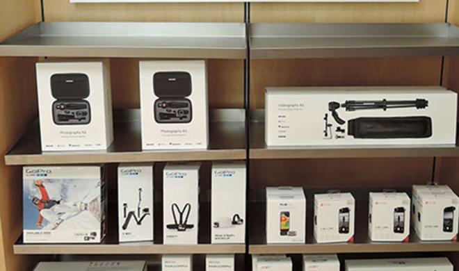 Erster Apple Store mit Fotografie-Zubehör-Ecke für iPhone gesichtet