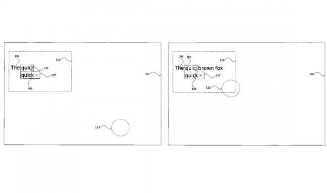 Apple-Patent: Autokorrektur nur mit den Augen