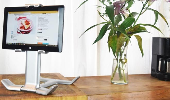 TStand: Dieser Tablethalter hält sogar das iPad Pro komfortabel