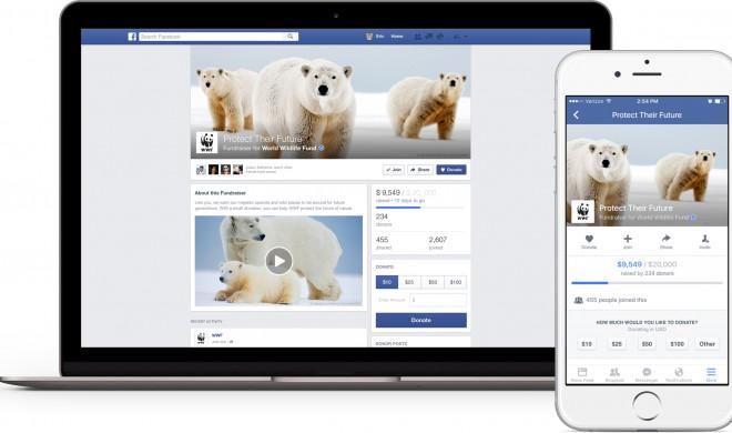 """Fundraisers"": Spenden sammeln via Facebook"