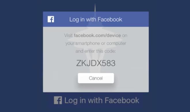 Apple TV: Facebook sorgt für Login-Vereinfachung